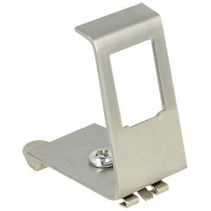 Keystone Metall Halterung 1 Port für Hutschienen DELOCK 86259