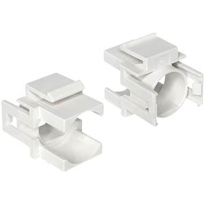 Delock keystone with hole, white DELOCK 86315