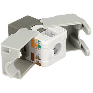 Keystone module RJ45 socket > LSA Cat.6 UTP DELOCK 86342
