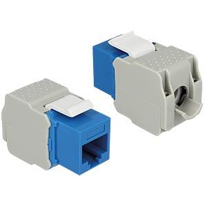 Keystone module RJ45 socket > LSA Cat.6 UTP DELOCK 86343