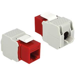 Keystone module RJ45 socket > LSA Cat.6 UTP DELOCK 86344