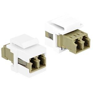 Keystone module LC duplex socket > socket DELOCK 86347