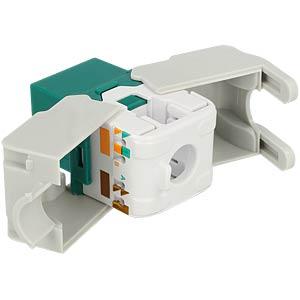 Keystone module RJ45 socket > LSA Cat.6 UTP DELOCK 86349