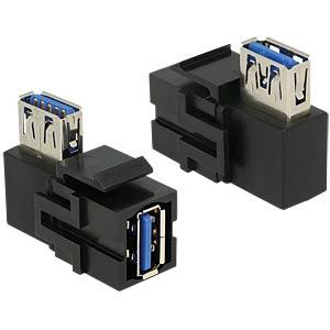Keystone Module USB 3.0 A female > USB 90° DELOCK 86360