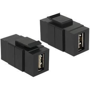 Keystone USB 2.0 A-Buchse>A-Buchse Easy-USB DELOCK 86368