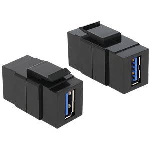 Keystone module USB 3.0 A socket > A socket DELOCK 86369