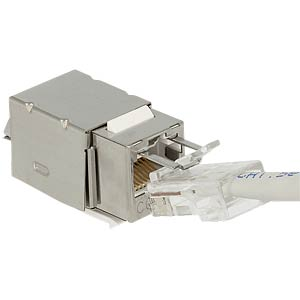 Keystone module RJ45 Secure cat.6 > LSA DELOCK 86404