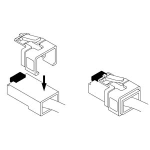 RJ45 repair clip set 2 DELOCK 86422