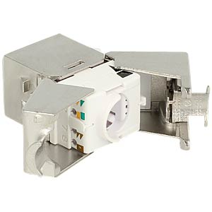 Keystone Module RJ45 jack > LSA Cat.6A compact 24 pieces DELOCK 86479
