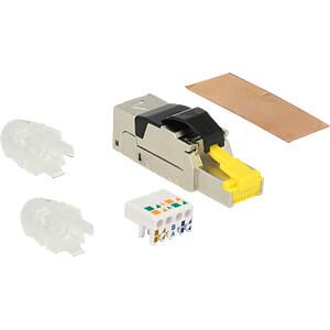 RJ45 Stecker feldkonfektionierbar Cat.8 Metall DELOCK 86485