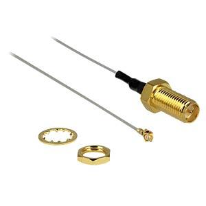 SMA jack/mount > MHF/U.FL plug 200 mm DELOCK 88343