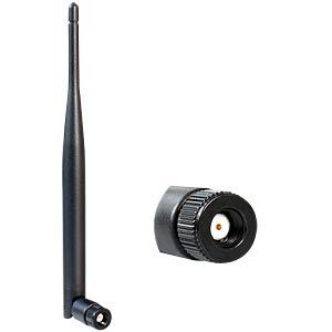 WLAN RP-SMA 802.11a/b/g/n 5 dBi omni Gelenk DELOCK 88393