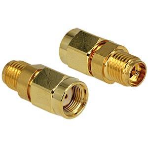 Adapter, RP-SMA Stecker, RP-SMA Buchse DELOCK 88875
