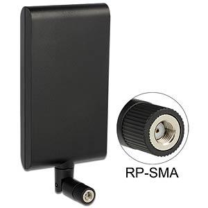 WLAN Antenne, RP-SMA, 7,5-10 dBi, direktional DELOCK 88904