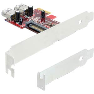 Delock PCI Express Card > 2 x intern USB 3.0 DELOCK 89272