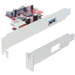 Delock PCI Express Card > 1 x extern 1 x intern USB 3.0 DELOCK 89273