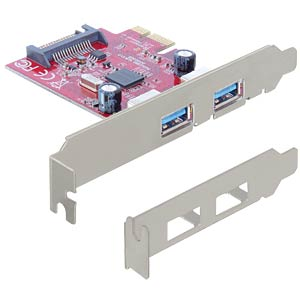 Delock PCI Express card > 2 x USB 3.0 DELOCK 89277
