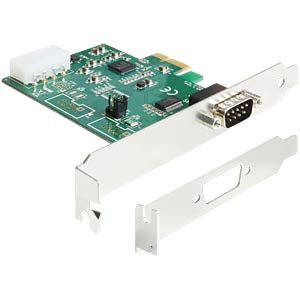 PCI Express card > 1 x serial RS-232 HS DELOCK 89333