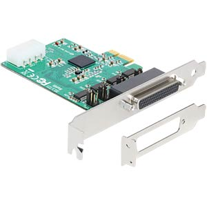 4 Port RS 232, seriell, PCIe Karte DELOCK 89335