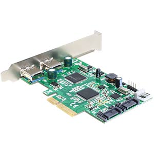 PCI Express > 2 x USB 3.0, 2 x SATA 6 Gb/s DELOCK 89359