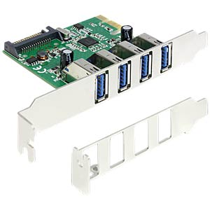 Delock PCI Express card > 4 x USB 3.0 DELOCK 89360