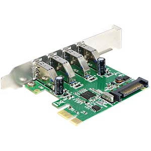 Delock PCI Express Karte > 4 x USB 3.0 DELOCK 89360