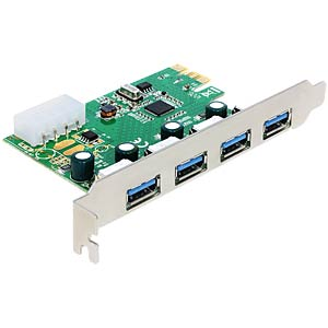 Delock PCI Express card > 4 x USB 3.0 DELOCK 89363