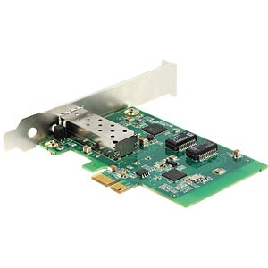 Delock PCI Express Card > 1 x SFP Slot Gigabit LAN DELOCK 89368