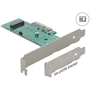 PCI Express card > 1 x internal M.2 NGFF DELOCK 89370