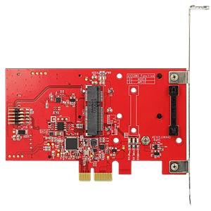 Konverter PCIe -> M.2, mSATA, MiniPCIe DELOCK 89380