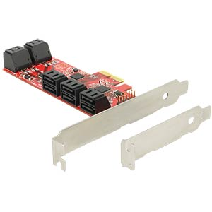 PCIe card > 10 x internal SATA 6 Gb/s DELOCK 89384