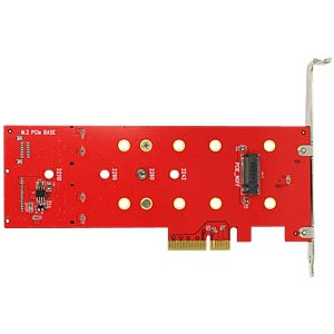 PCI Express card > 3 x internal M.2 NGFF DELOCK 89394