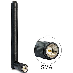 WLAN Antenne, SMA Stecker DELOCK 89437