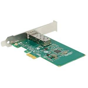 Netzwerkkarte, PCI Express x1, Gigabit Ethernet, 1x SFP DELOCK 89481