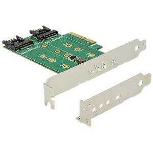 PCIe x4 > 3x M.2 Low Profile DELOCK 89518
