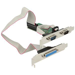 3 Port, parallel, seriell, PCIe Karte DELOCK 89556