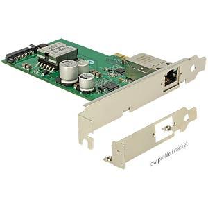 Netzwerkkarte, PCI Express, Gigabit Ethernet, 1x RJ45 DELOCK 89594