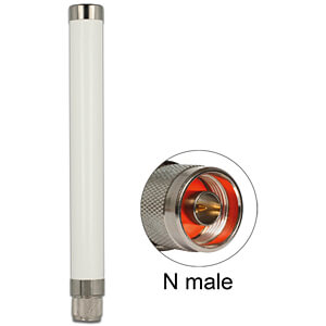 433 MHz antenne N-stekker 1,32 dBi omnidirectioneel starr outdoo DELOCK 89634