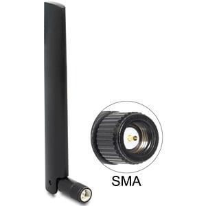 LoRa 868 MHz Antenne SMA 3 dBi omnidirektional, Kippgelenk DELOCK 89769