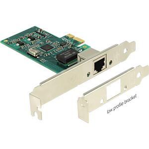 NIC, PCI Express, 1x Gigabit Ethernet DELOCK 89943