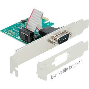 DELOCK 90006 - PCI Express Karte zu 1 x Seriell RS-232
