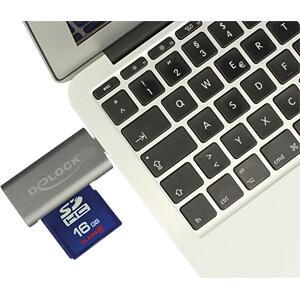 Kaartlezer, extern, USB 3.1, Type C DELOCK 91742