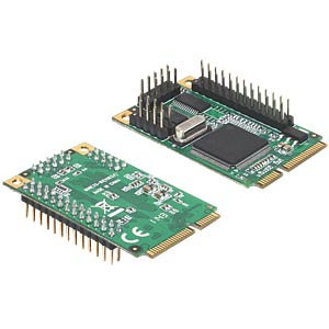 MiniPCIe 2 x serial RS-232, 1 x parallel DELOCK 95232