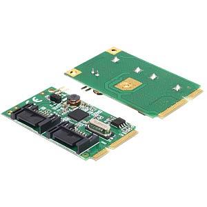 MiniPCIe 2x SATA 6 Gb/s DELOCK 95233