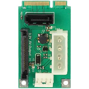Konverter mSATA full size > 1 x SATA 7 Pin DELOCK 95241