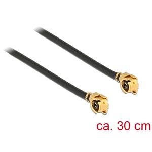 Antennekabel MHF®, stekker, 1,13 30 cm DELOCK 89609