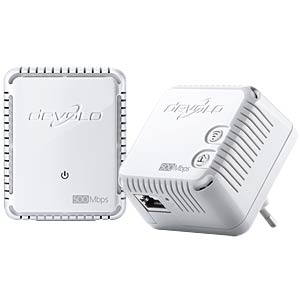 Powerline dLAN 500 WiFi - Starter Kit (2 Adapter) DEVOLO 9083