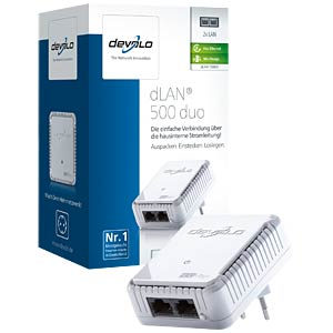 devolo dLAN duo 500 Mbit/s Einzel-Adapter DEVOLO 9099
