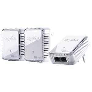 devolo dLAN duo 500 Mbit/s Network Kit (3 Ada.) DEVOLO 9103