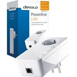 Devolo dLAN 1200+ powerline adapter (1 unit) DEVOLO 9320